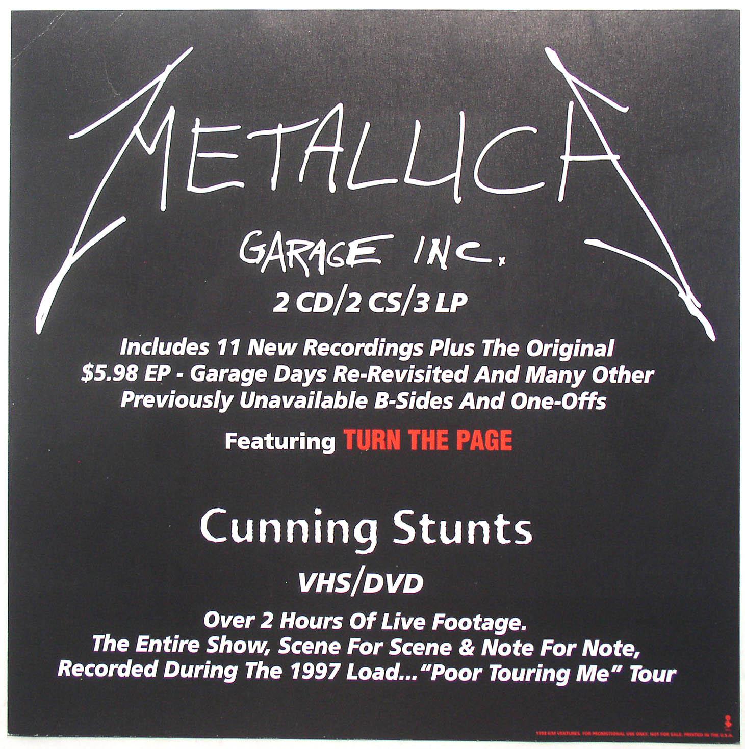 Metallica / Garage Inc - Thingery Previews Postviews