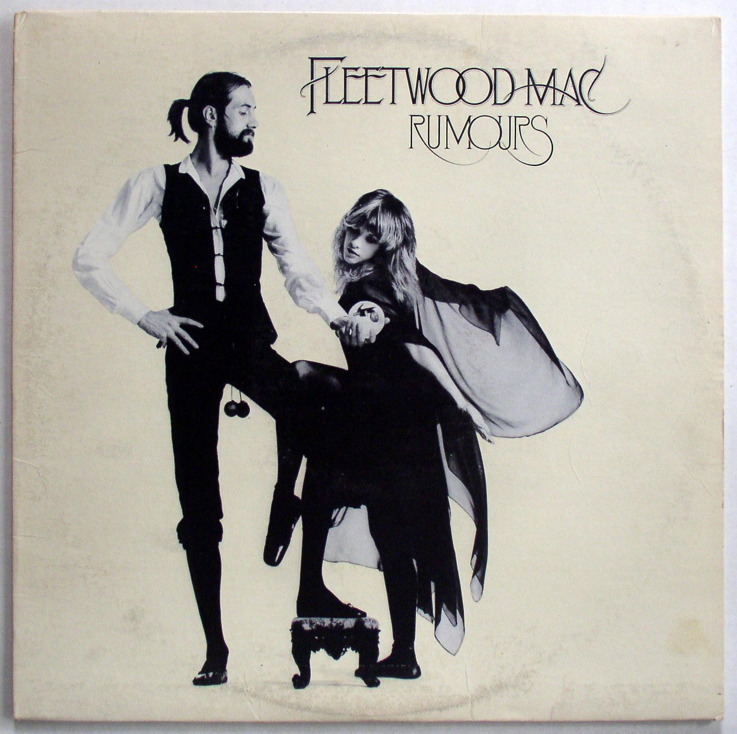 Fleetwood Mac Rumors Lp Original Label Textured Cover